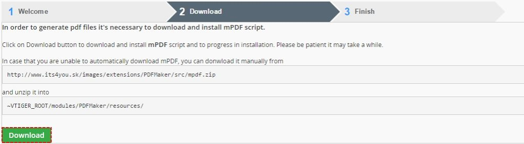 How to install PDF Maker Free – module manager