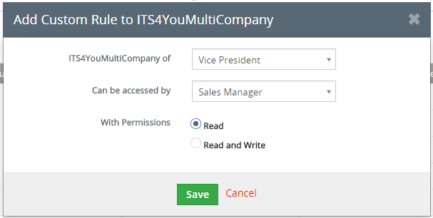 How to allow see company for all users