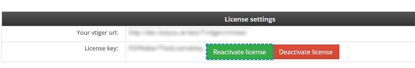 Reactivate license of Multi Company